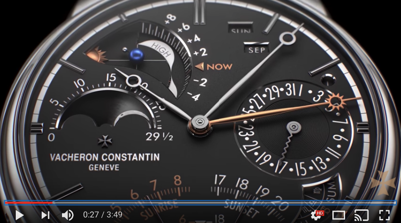 VIDEO – An amazing display of Heute Horologie at its finest – Vacheron Constantin